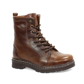 Bota Coturno Cravo e Canela Light Whisky Feminina Marrom