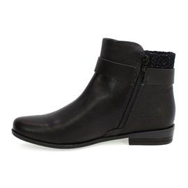 Bota Ramarim Ankle Boot Feminina Preta