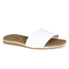 Chinelo Beira Rio Slip Flops Feminino Branco
