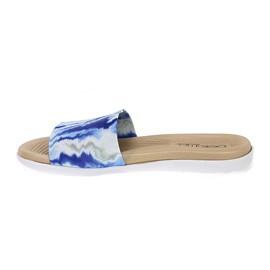 Chinelo Beira Rio Slip Primavera Feminino Azul