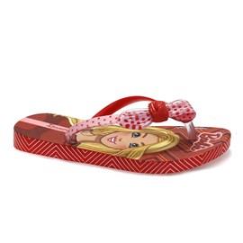 Chinelo Ipanema Barbie Laço Menina Vermelho