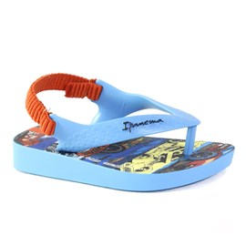 Chinelo Ipanema Hot Wheels  Menino Azul