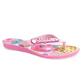 Chinelo Menina Shopkins Funtastic Grendene Kids Rosa