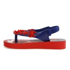 Chinelo Menino Homem Aranha Azul e Vermelho Ipanema