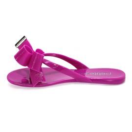Chinelo Petite Jolie J-Lastic Feminino Rosa Pink