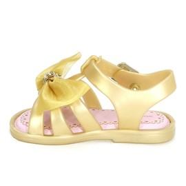 Sandália Bebê World Colors Menina Dourado