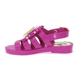 Sandália Luelua Laço Menina Pink