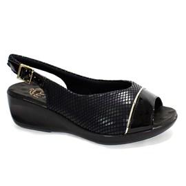 Sandália Malu Super Comfort Feminino Preto