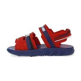 Sandália Marvel Pack Mochila Menino Vermelha e Azul