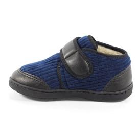 Sapatênis Infantil De Lã Azul Katurê