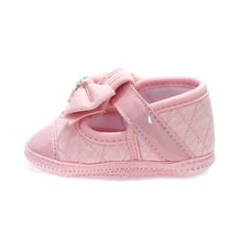 Sapatilha Keto Laço Bebê Rosa