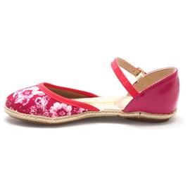 Sapatilha Molekinha Tropical Floral Menina Pink