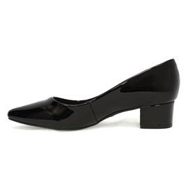Sapato Bebecê Bico Fino Feminino Preto