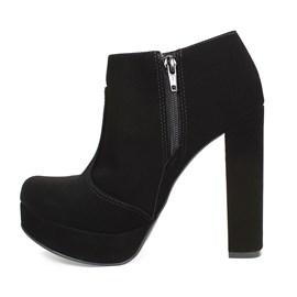 Sapato Bebecê Salto Alto Feminino Preto