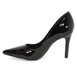 Sapato Bebecê Scarpin Bico Fino Feminino Preto