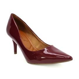 Sapato Bebecê Scarpin Feminino Vinho