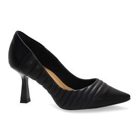 Sapato Bebecê Scarpin Napa Comfy Feminino Preto