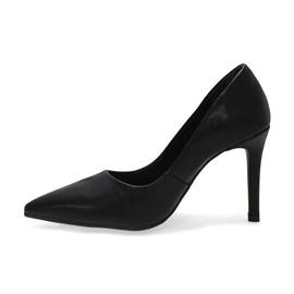 Sapato Bebecê Scarpin Napa Manhattan Feminino Preto
