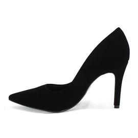 Sapato Bebecê Scarpin Nobuck Feminino Preto