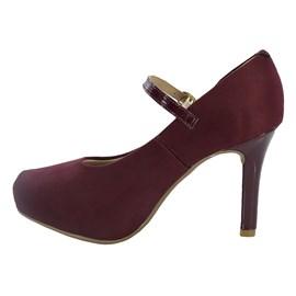 Sapato Beira Rio Feminino Vinho