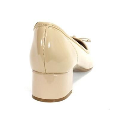 Sapato Beira Rio Laço Feminino Bege