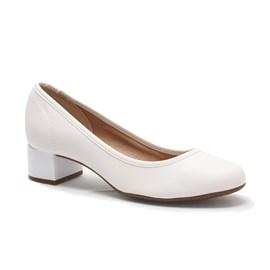 Sapato Beira Rio Napa Feminino Branco