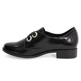 Sapato Beira Rio Oxford Feminino Preto