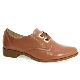 Sapato Beira Rio Oxford Feminino Rosê
