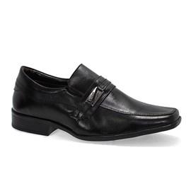 Sapato Bertelli Confort Bico Quadrado Maculino Preto