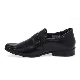 Sapato Bertelli Confort Social Menino Preto
