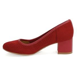 Sapato Dakota Malha Feminino Vermelho