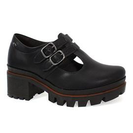 Sapato Dakota Salto Bloco Feminino Preto