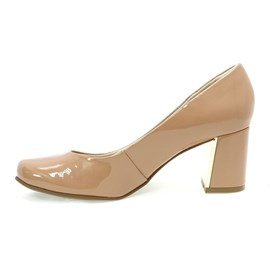 Sapato Feminino Amarilis Ice Coff Nude Bebecê