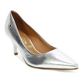 Sapato Feminino Glamour Prata Vizzano
