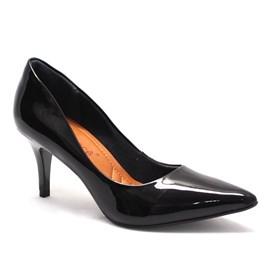 Sapato Feminino Scarpin Preto Bebecê
