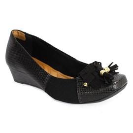 Sapato Firezzi Snake Color Feminino Preto