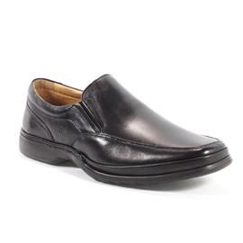 Sapato Masculino Anatômico Em Couro Rafarillo Preto