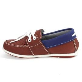 Sapato Menino Dock Side Sames Bordô