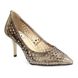 Sapato Miucha Dot Champagne Feminino Bronze