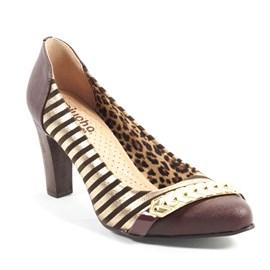 Sapato Miucha Valent Feminino Listrado