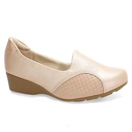 Sapato Modare Anabela Ultra Conforto Feminino Nude