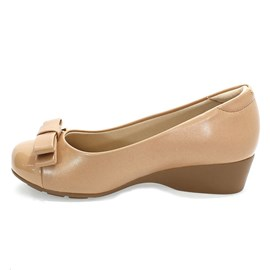 Sapato Modare Casual Ultra Conforto Feminino Nude