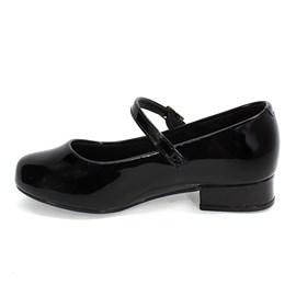 Sapato Molekinha Boneca Menina Preto
