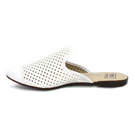 Sapato Mule Napa Turim Feminina Branco