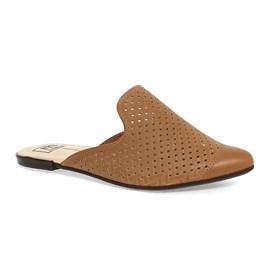 Sapato Mule Napa Turim Feminina Caramelo