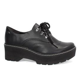 Sapato Oxford Dakota Flatform Feminino Preto