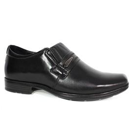 Sapato Pegada Social Couro Masculino Preto