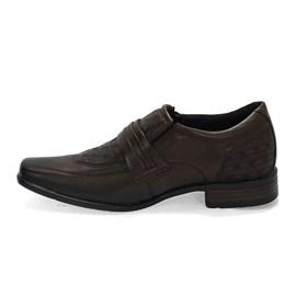 Sapato Pegada Social Couro Mestiço Masculino Marrom
