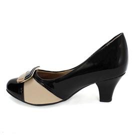Sapato Piccadilly Conforto Feminino Preto