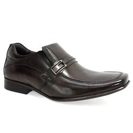 Sapato Rafarillo Couro Cano Curto Masculino Marrom
